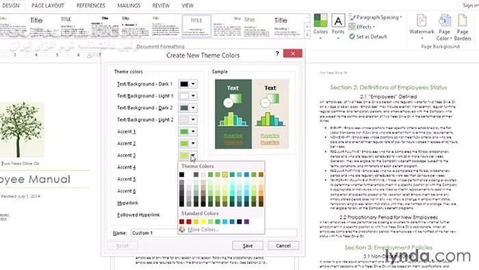 Lynda Word 2013 Power Shortcuts تصاویر نرم افزار  - سافت گذر