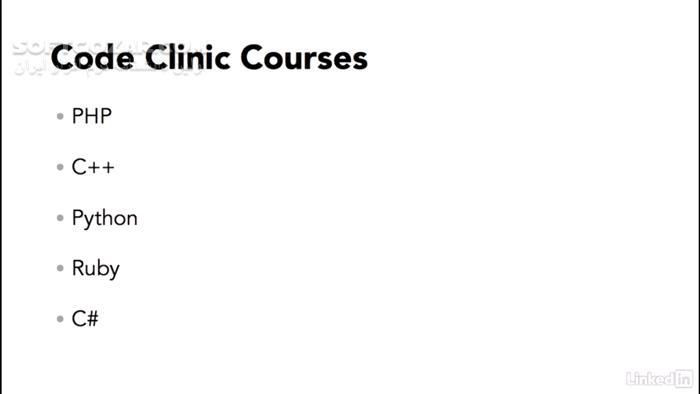 Lynda Code Clinic Java تصاویر نرم افزار  - سافت گذر