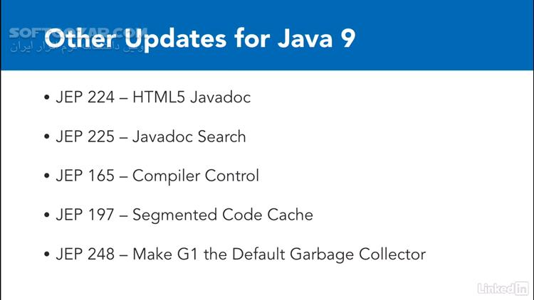 Lynda First Look Java 9 تصاویر نرم افزار  - سافت گذر
