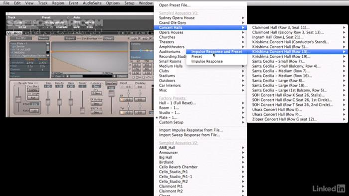 Lynda Foundations of Audio Reverb تصاویر نرم افزار  - سافت گذر