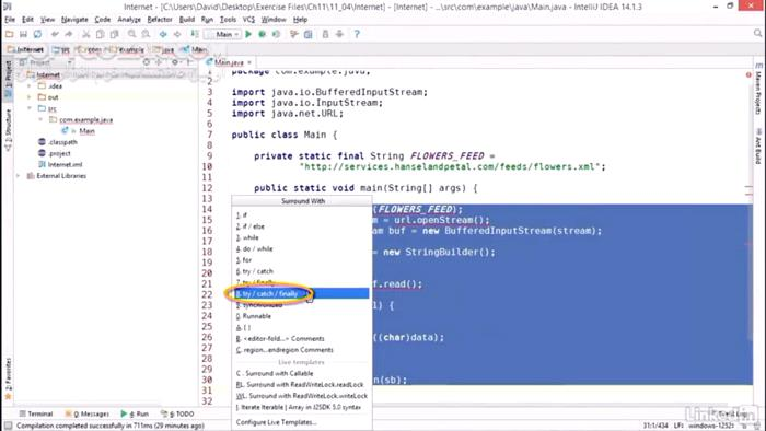 Lynda Java Essential Training تصاویر نرم افزار  - سافت گذر