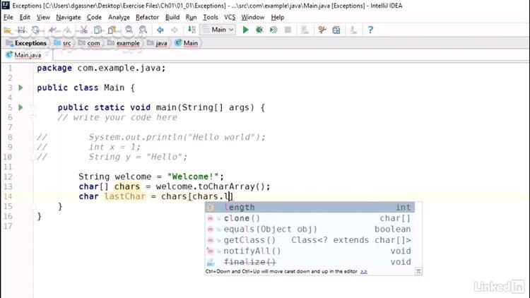 Lynda Java Essential Training Objects and APIs تصاویر نرم افزار  - سافت گذر
