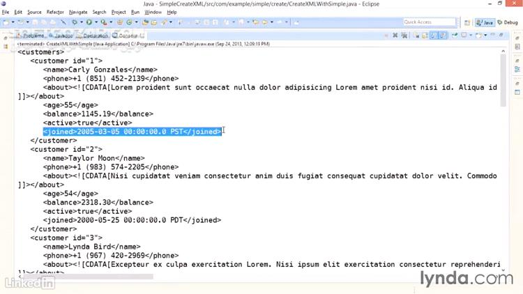 Lynda Java XML Integration تصاویر نرم افزار  - سافت گذر