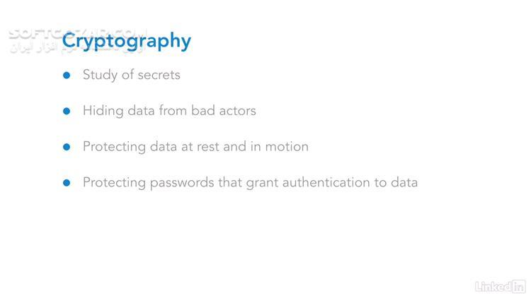 Lynda Learn Java Cryptography تصاویر نرم افزار  - سافت گذر
