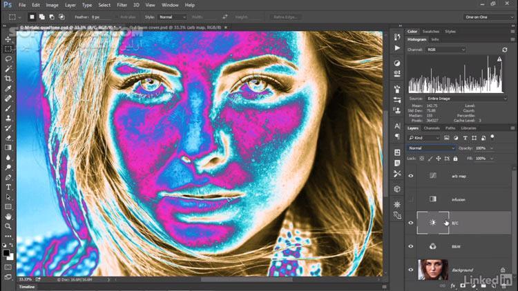 Lynda Photoshop CC 2018 One on One Advanced تصاویر نرم افزار  - سافت گذر