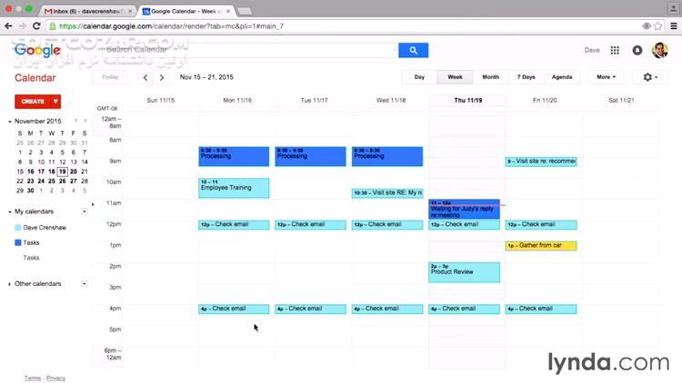 Lynda Time Management Fundamentals تصاویر نرم افزار  - سافت گذر