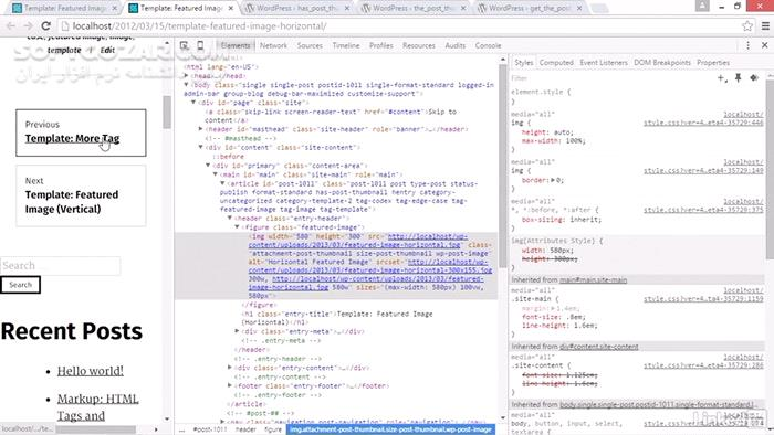 Lynda WordPress Building Themes from Scratch Using Underscores تصاویر نرم افزار  - سافت گذر