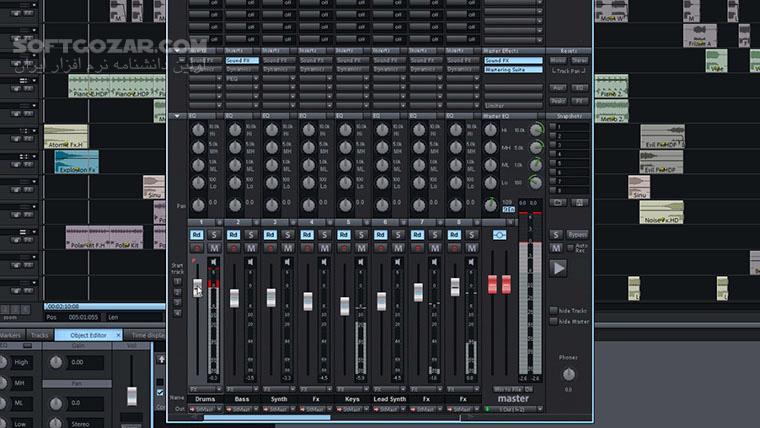 MAGIX Music Maker 2015 Premium 21 0 1 30 2017 Premium 24 1 5 119 Live 2017 2016 Live ISO 22 0 1 51 تصاویر نرم افزار  - سافت گذر