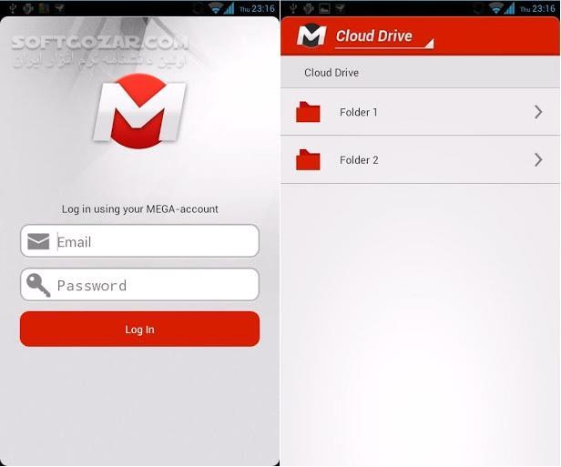 MEGA 3 6 3 246 for Android 3 0 تصاویر نرم افزار  - سافت گذر