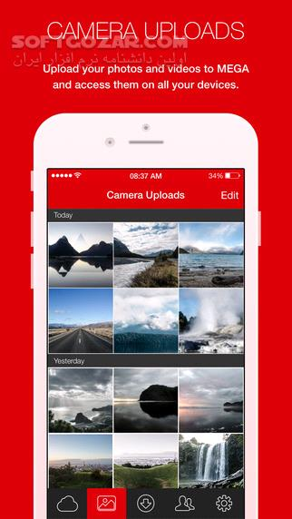 MEGA 3 6 1 233 for Android 3 0 تصاویر نرم افزار  - سافت گذر