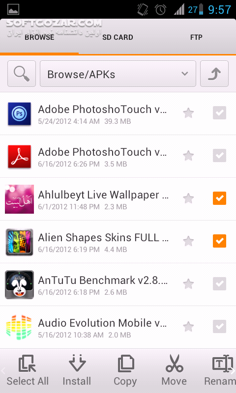 MiXplorer 6 41 1 for Android 2 0 تصاویر نرم افزار  - سافت گذر