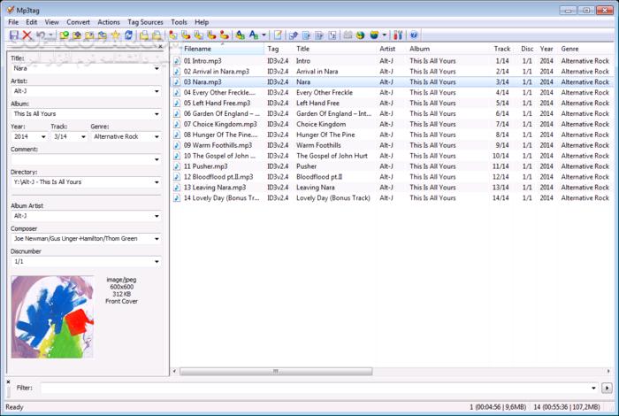 Mp3tag 2 99a Portable Pro 9 0 Build 556 Mac تصاویر نرم افزار  - سافت گذر