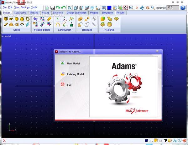 MSC Adams 2019 2 2018 2014 تصاویر نرم افزار  - سافت گذر
