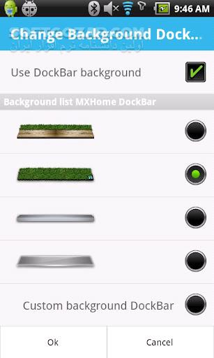 MXHome Launcher 3 1 8 for Android 2 1 تصاویر نرم افزار  - سافت گذر