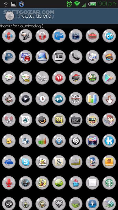 Mactastic Orb 2 3 for Android 2 2 تصاویر نرم افزار  - سافت گذر