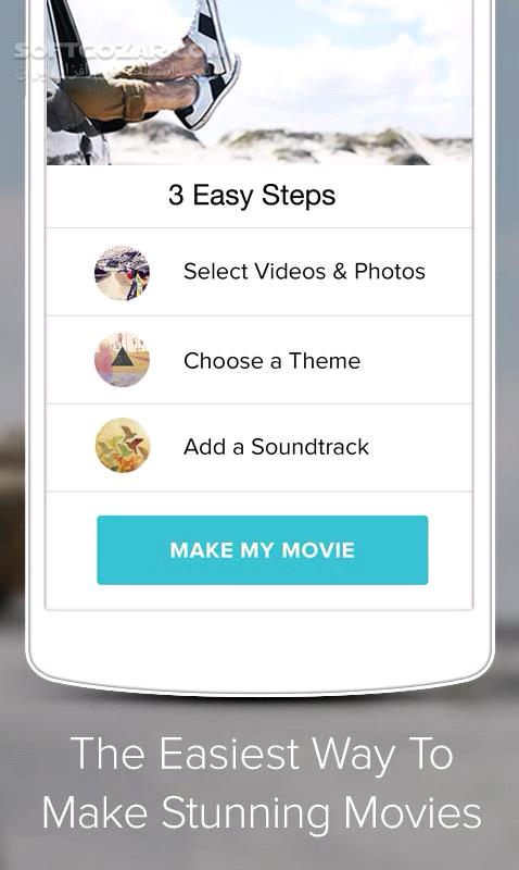 Magisto Video Editor Maker 4 44 2 18849 for Android 4 0 تصاویر نرم افزار  - سافت گذر