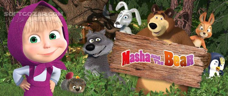 Masha and the Bear تصاویر نرم افزار  - سافت گذر