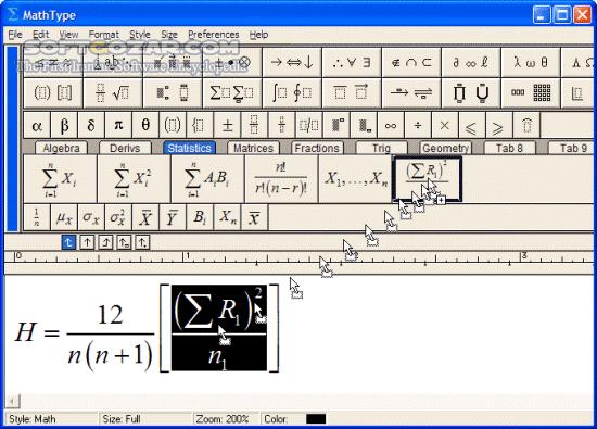 MathType 7 4 1 458 macOS تصاویر نرم افزار  - سافت گذر