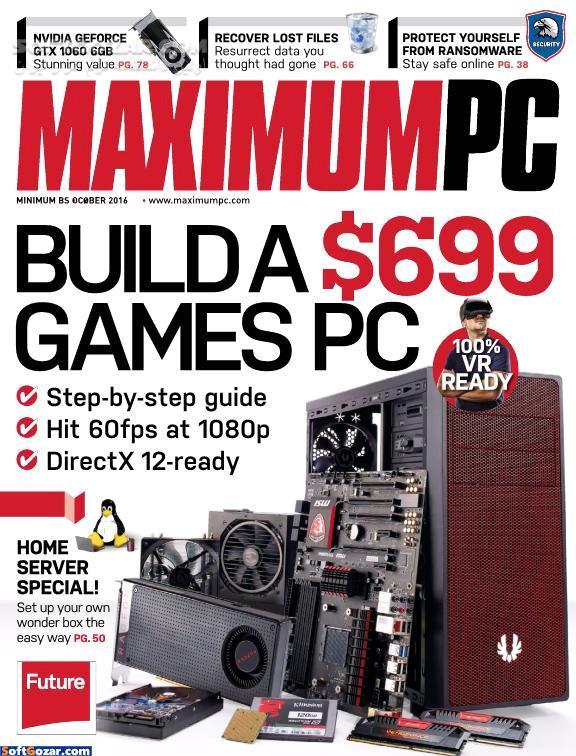 Maximum PC Magazine February 2016 January 2017 Specials 2016 تصاویر نرم افزار  - سافت گذر