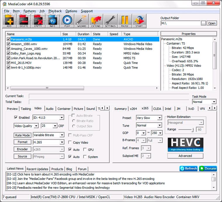 MediaCoder Pro 0 8 52 5920 تصاویر نرم افزار  - سافت گذر