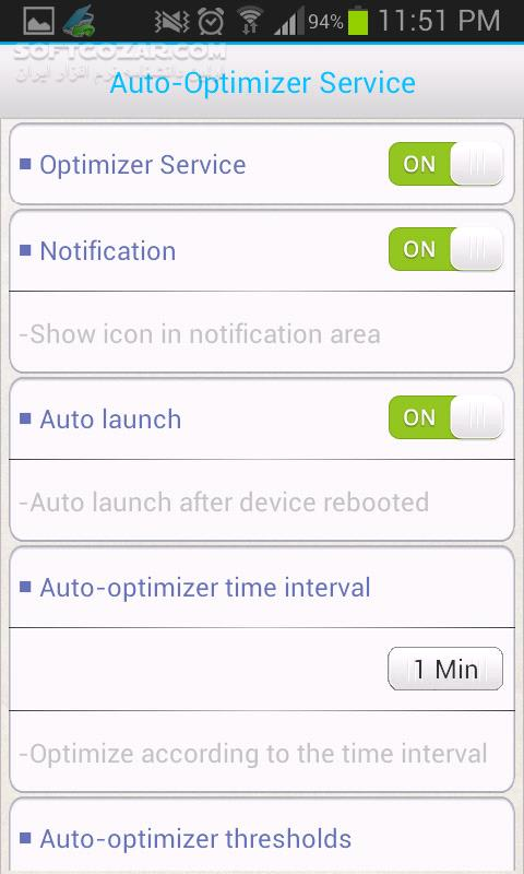 Memory Optimizer Pro 1 2 5 for Android 2 2