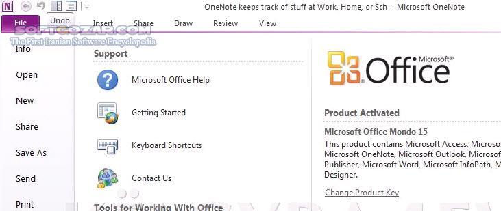 Office 2013 SP1 Pro Plus 15 0 5153 1001 July 2019 تصاویر نرم افزار  - سافت گذر