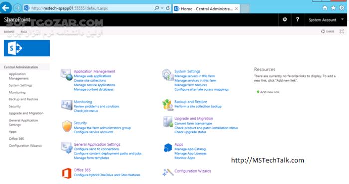 Microsoft SharePoint Server 2016 x64 تصاویر نرم افزار  - سافت گذر