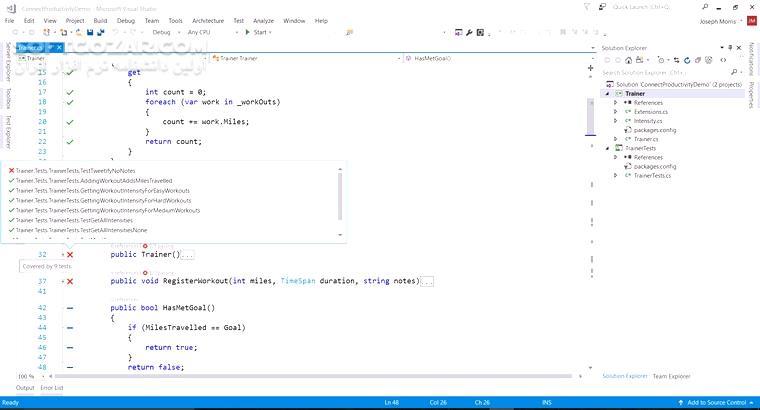 Microsoft Visual Studio 2017 v15 9 5 تصاویر نرم افزار  - سافت گذر