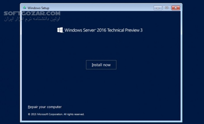 Microsoft Windows Server 2016 RTM Version 1607 Build 10 0 14393 MSDN VLSC تصاویر نرم افزار  - سافت گذر