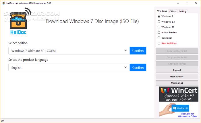 Microsoft Windows and Office ISO Download Tool 8 02 تصاویر نرم افزار  - سافت گذر