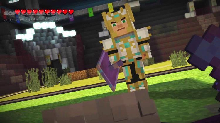 Minecraft Story Mode Episode 1 2 3 4 5 6 7 8 تصاویر نرم افزار  - سافت گذر