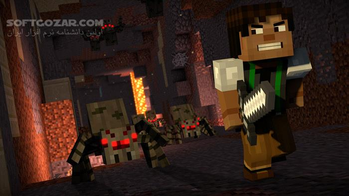Minecraft Story Mode Season Two Episode 1 تصاویر نرم افزار  - سافت گذر