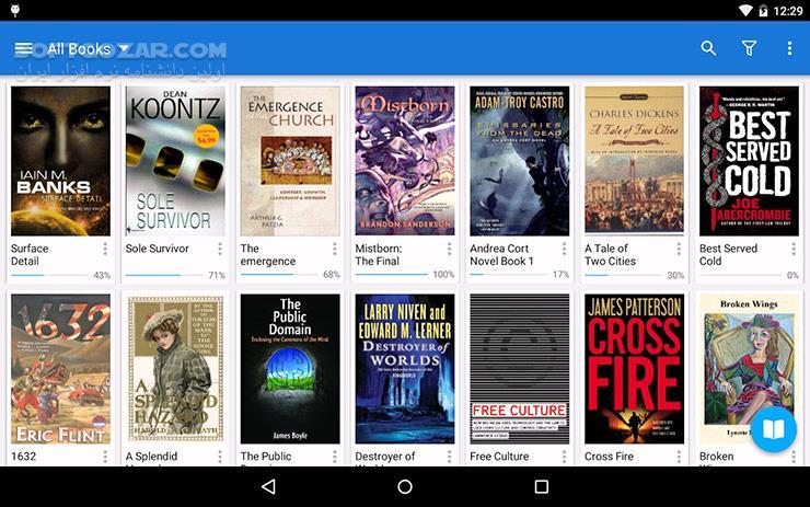 Moon Reader Pro 5 2 4 for Android 2 3 تصاویر نرم افزار  - سافت گذر