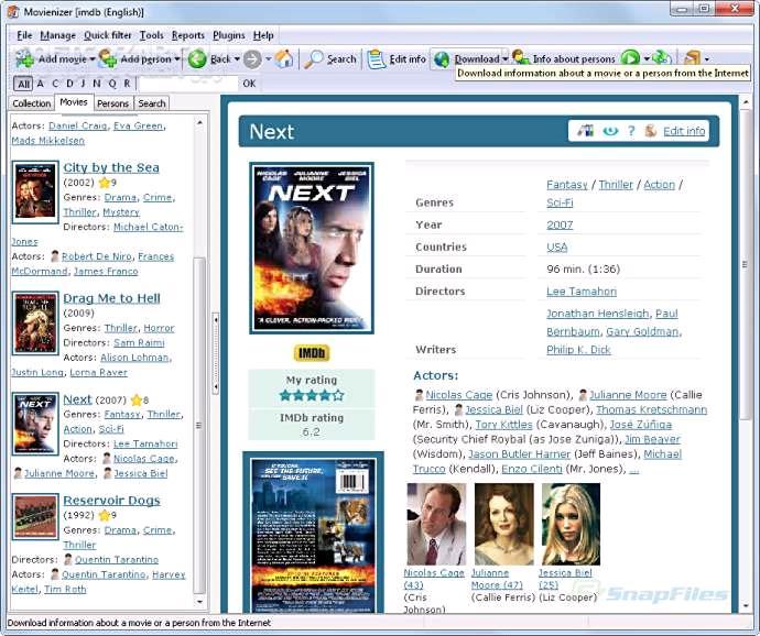Movienizer 9 1 0 525 تصاویر نرم افزار  - سافت گذر