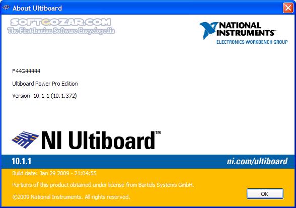 Multisim Utilboard (Circuit Design Suite) 14 1 Multisim 14 2 Professional تصاویر نرم افزار  - سافت گذر