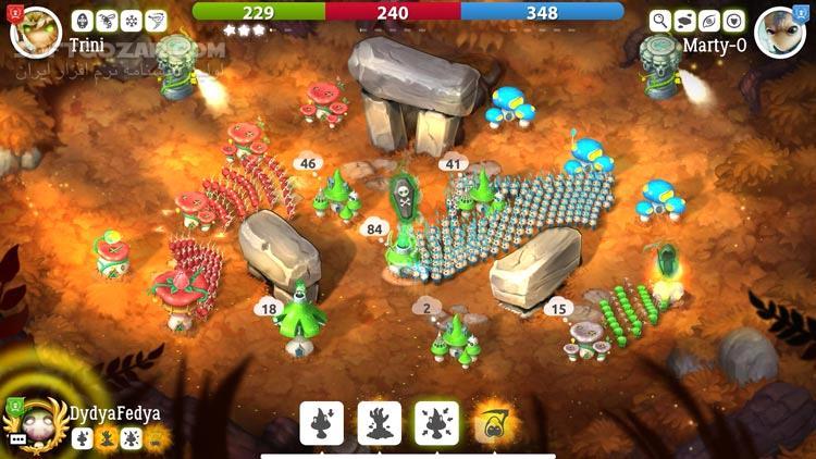 Mushroom Wars 2 Update v2 4 0 تصاویر نرم افزار  - سافت گذر
