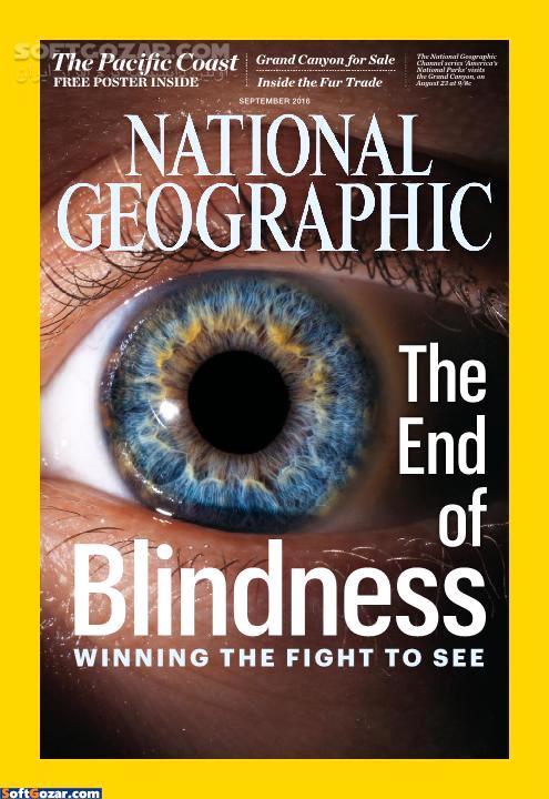 National Geographic Magazine February 2016 January 2017 تصاویر نرم افزار  - سافت گذر