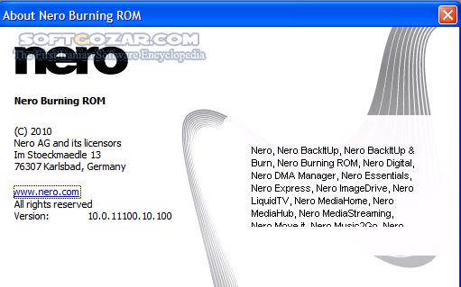 Nero 2015 Platinum 16 0 0550 Retail Burning ROM 2015 16 0 02700 ContentPack Portable تصاویر نرم افزار  - سافت گذر