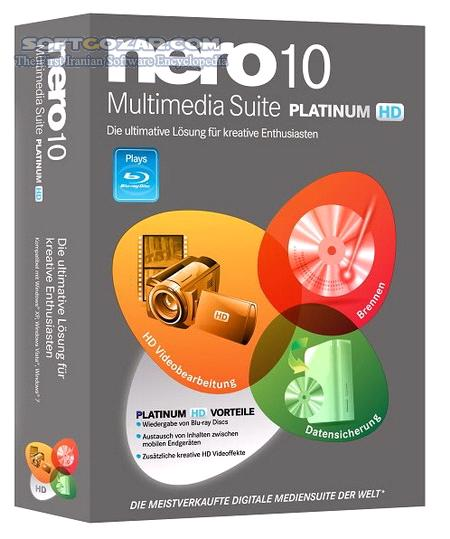 Nero Multimedia Suite Platinum HD 11 2 00700 Add ons Vision Video Lite Micro Portable تصاویر نرم افزار  - سافت گذر