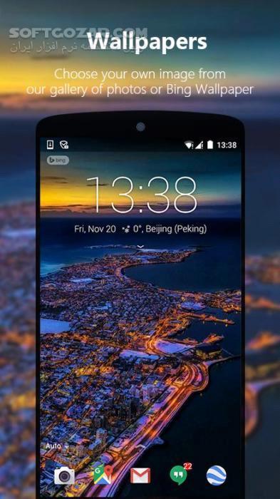 Next Lock Screen 3 11 5 for Android 4 1 تصاویر نرم افزار  - سافت گذر