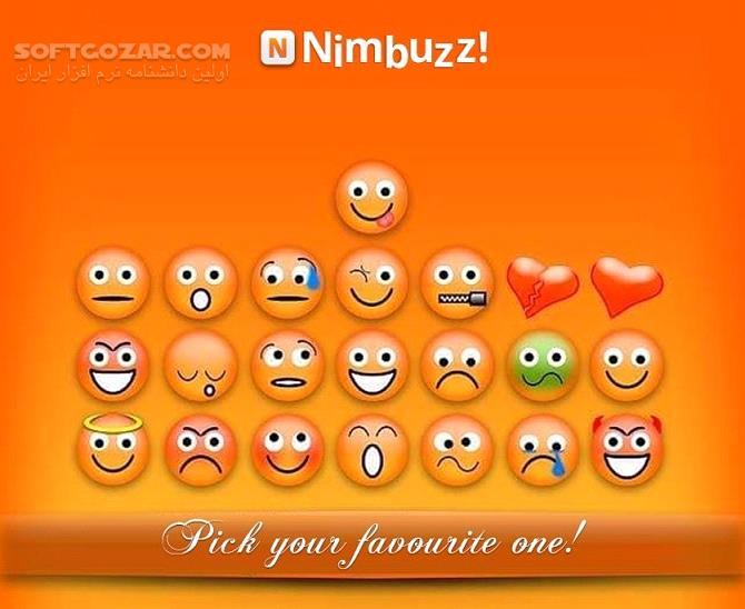 Nimbuzz Messenger 7 1 0 Android Symbian Java BomBusMod تصاویر نرم افزار  - سافت گذر