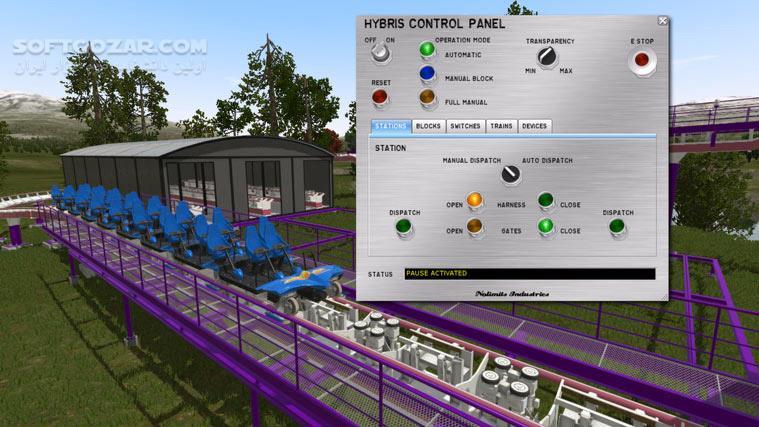 NoLimits 2 Roller Coaster Simulation تصاویر نرم افزار  - سافت گذر