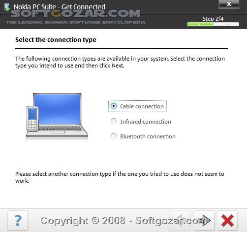 Nokia Suite 3 8 54 PC Suite 7 1 180 94 تصاویر نرم افزار  - سافت گذر