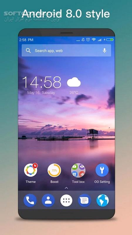 OO Launcher for Android 5 8 for Android 4 0 تصاویر نرم افزار  - سافت گذر