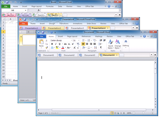 Office Tab Enterprise 14 00 تصاویر نرم افزار  - سافت گذر