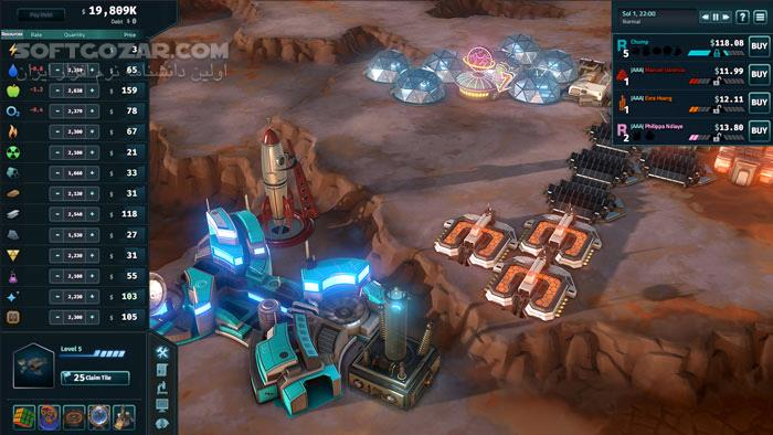 Offworld Trading Company Conspicuous Consumption تصاویر نرم افزار  - سافت گذر