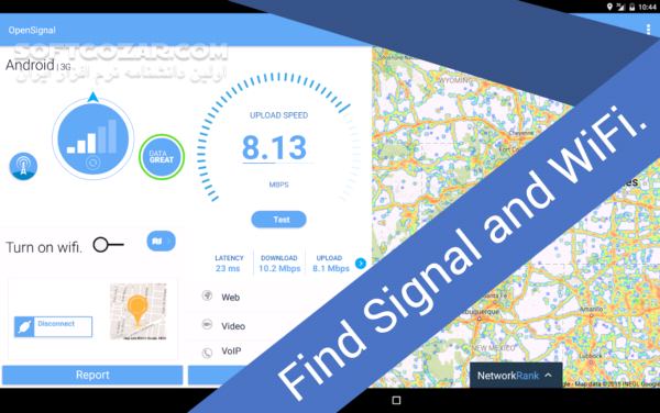4G WiFi Maps Speed Test (OpenSignal) 6 0 5 1 for Android 4 1 تصاویر نرم افزار  - سافت گذر