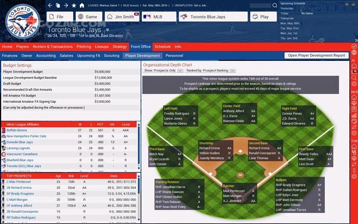 Out of the Park Baseball 17 تصاویر نرم افزار  - سافت گذر
