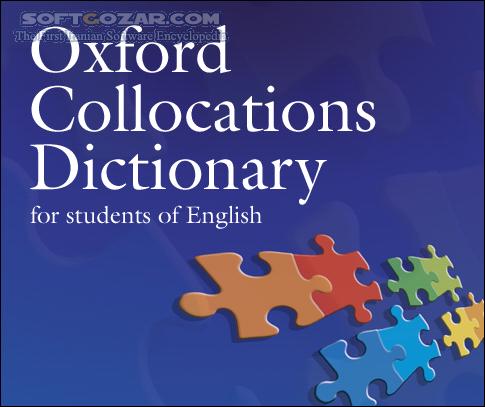 Oxford Collocations Dictionary 2nd Edition 2009 تصاویر نرم افزار  - سافت گذر