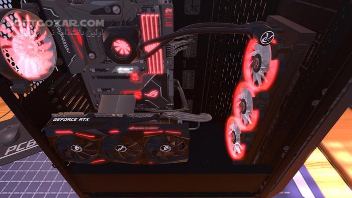PC Building Simulator تصاویر نرم افزار  - سافت گذر